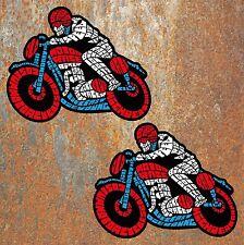 CAFE RACER Vintage Stickers 130x100mm Motorbike Motorcycle Biker Retro RWB