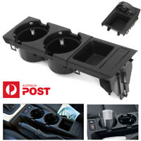 Black Car Center Console Storage Box Drink Cup Holder For BMW E46 3 Series 99-06
