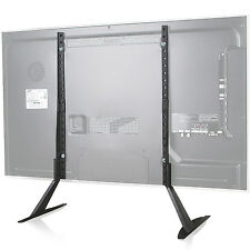 """WALI Universal LCD Flat Screen TV Table Top Stand / Base fits 22"""" to 65"""" TVS001"""