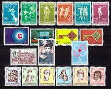 Luxembourg jaar/ann 1968 MNH Yv = 11,25 Euro vo1061