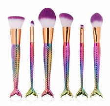 10pcs PRO Unicorn Diamond Mermaid Professional Face Makeup Brushes Brush Set