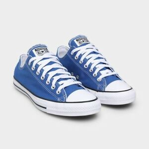 Converse All Star Snorkel Ox (Men's Size 8) Athletic Casual Sneaker Blue Shoe