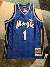 Authentic Tracy McGrady Orlando Magic Mitchell & Ness Road Jersey