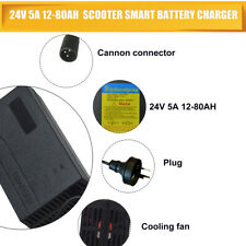 24v 5Amp 5A Mobility Scooter Wheelchair Battery Charger Upgrade 3Amp & 4Amp.
