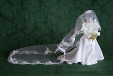 """SPIRIT OF MEGHAN - DUCHESS OF SUSSEX"" - MINIATURE REPLICA WEDDING GOWN"