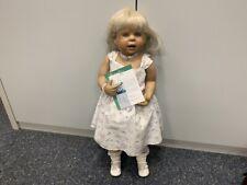 Inge Tenbusch Porzellan Puppe 82 cm. Top Zustand
