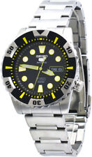 Seiko 5 Sports SNZJ15K1 Men Stainless Steel Black Dial 23 Jewels Automatic Watch