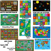 New Large Classroom and Nursery Play Rugs for Kids and Teens *Free Shipping*