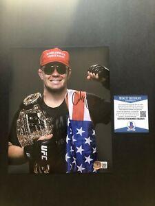 Colby Covington Hot signed autographed UFC MMA MAGA 8x10 photo Beckett BAS coa