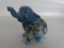 Old Tupton Hummingbird Elephant Ceramic Figurine * New in Box *