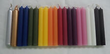 "20 ASSORTED 4"" MINI SPELL CANDLES DELUXE SET (Altar Wicca Ritual) Chime Candles"