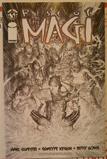 Rise of the Magi #1 Black and White Sketch variant NM Unread Silvestri Image