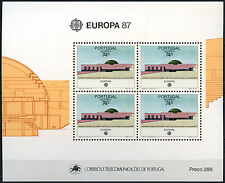 Azores 1987 Sg#Ms477 Europa Architecture Mnh M/S Sheet Cat £18 #D40790