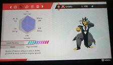 Urshifu Pluricolpo GIGAMAX 6 IV - allegra Pokémon Spada - Scudo + tappo oro