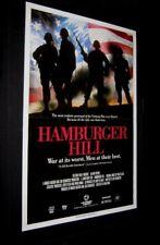 """Original Hamburger Hill 1 Of Best Vietnam War Films Rare 27"""" x 41"""" Video Style"""
