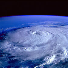 HURRICANE PHOTO FROM SPACE POSTER 36x36 HI RES