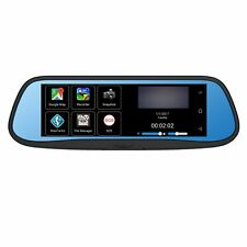 """BOYO VTG700X - Replacement Rear-View Mirror with 7"""" HD Monitor, GPS Navigation a"""