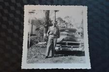 Vintage Car Photo Man w/ 1953 Chrysler Windsor 861
