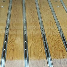 Polished Stainless Bed Strips Ford 1953 - 1960 Short Bed Flareside Stepside