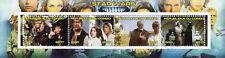 Congo 2017 CTO Star Wars Darth Vader Han Solo C3PO 4v M/S II Movies Stamps