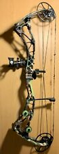 Brand New 2020 Bowtech Revolt X Woodlands Camo Rh 60# With Case And Accessories