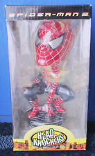 NECA SPIDER-MAN 2 HEAD KNOCKERS 2004 Brand new in box