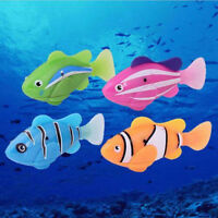 Robofish Activated Battery Powered Robo Fish Toy Childen Kids Robotic  Newly UK
