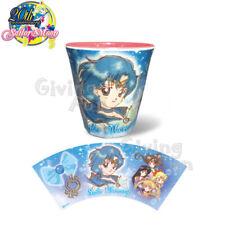 GENUINE BANDAI Sailor Moon 20th Anniversary Coffee Plastic Cup - Sailor Mercury