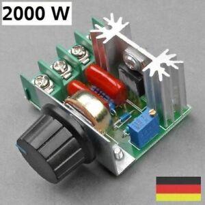 230V SCR Spannungsregler Drehzahlregler Leistungsregler Drehzahlsteller Dimmer