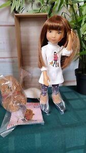 Ruby Red doll. Natalie. 31 sm