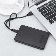 Tragbar USB2.0 zu Ide Pata 6.3cm HDD Festplatte Disk Externe Gehäuse Hülle Ein S