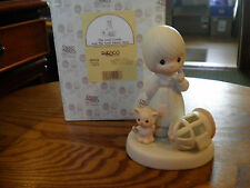 Precious Moments Figurine The Lord Giveth, And The Lord Taketh Away 100226