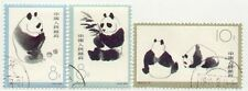China - Set of 3 Panda Stamps CTO