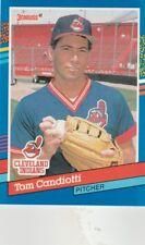 FREE SHIPPING-MINT-1991 Donruss Baseball #115 Tom Candiotti CLEVELAND INDIANS