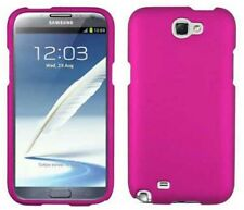 PINK RUBBERIZED PROTEX HARD SHELL CASE COVER FOR SAMSUNG GALAXY NOTE 2 II
