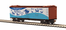 MTH Electric Trains HO Scale R40-2 Wood Side Reefer Gerber Products #1008