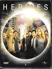COFFRET DIGIPACK 4 DVD ZONE 2--HEROES--INTEGRALE SAISON 2