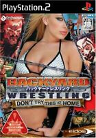 Backyard Wrestling PS2 Eidos Sony Playstation 2 From Japan