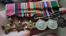 Miniature OBE medal group