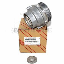 NEW TOYOTA GENUINE 3.5L OIL FILTER HOUSING CAP & PLUG 15620-31060 & 15643-31050