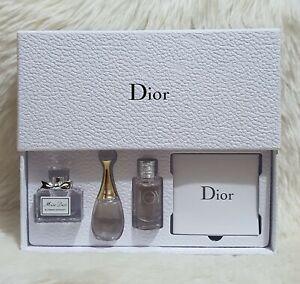Christian Dior Perfume Set of 3 Travel Size Miniature Bottle 8ml each Bottle