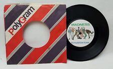 "Madness It Must Be Love 7"" 45rpm Vinyl 1981 UK Press BUY 134 VG+/VG"