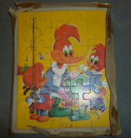 Vintage Woody Woodpecker Puzzle - boxed