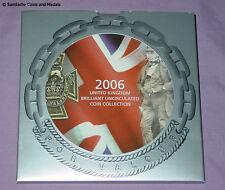 2006 ROYAL MINT BRILLIANT UNCIRCULATED SET COINS  - 2 x Brunel £2 & VC 50p