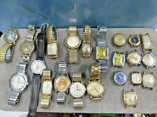 Vintage Watches, Automatic, self winding G Filled, Bulova Gruen, Movado, Gucci+