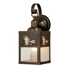 Vaxcel Mayfly 5' Outdoor Wall Light , Burnished Bronze - T0116