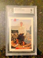 1992 Bowman Baseball #28 CHIPPER JONES ROOKIE.......BVG 9 MINT