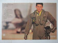 7/1989 PUB GENERAL ELECTRIC AIRCRAFT ENGINES F110-GE-129 USAF F-16 PILOT AD