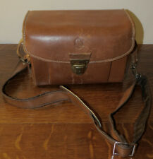 Vintage OMNICA Leather Camera Bag for Leica~Made in Germany Compartments