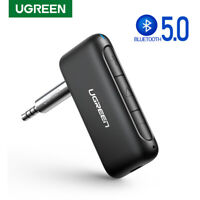 UGREEN Bluetooth 5.0 Receiver Wireless 3.5mm Aux Stereo HiFi Music Audio Adapter